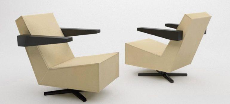 rietveld fauteuil denekamper metaal industrie Unesco fauteuil